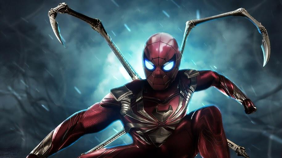 Spider Man Iron Spider Marvel 4k Wallpaper 251
