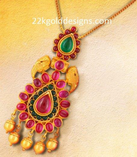 Malabar Gold Pendant Design