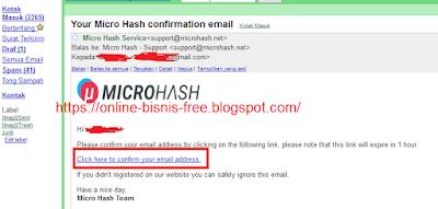 Cara Mining Bitcoin Gratis 10 KH/s MicroHash