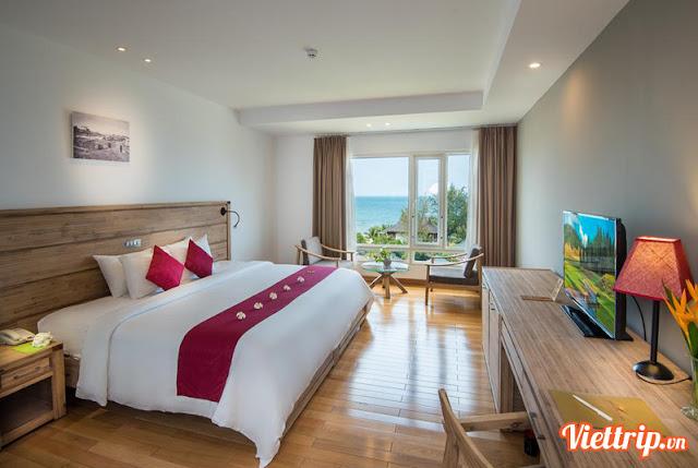 Phòng ngủ hiện đại - Eden resort Phú Quốc
