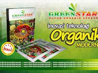 Pupuk Organik Serbuk Greenstar. Praktis dan Ekonomis.