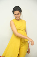 Taapsee Pannu looks mesmerizing in Yellow for her Telugu Movie Anando hma motion poster launch ~  Exclusive 050.JPG