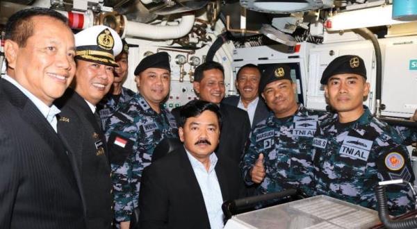 Kru Ardadedali dan Panglima TNI