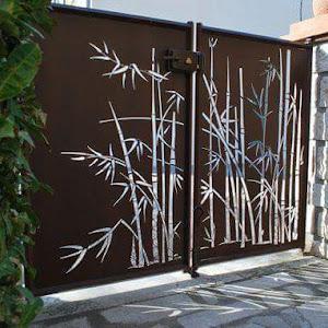 Beautiful COMPOUND WALL GATES DESIGNS USING CNC CUTTING