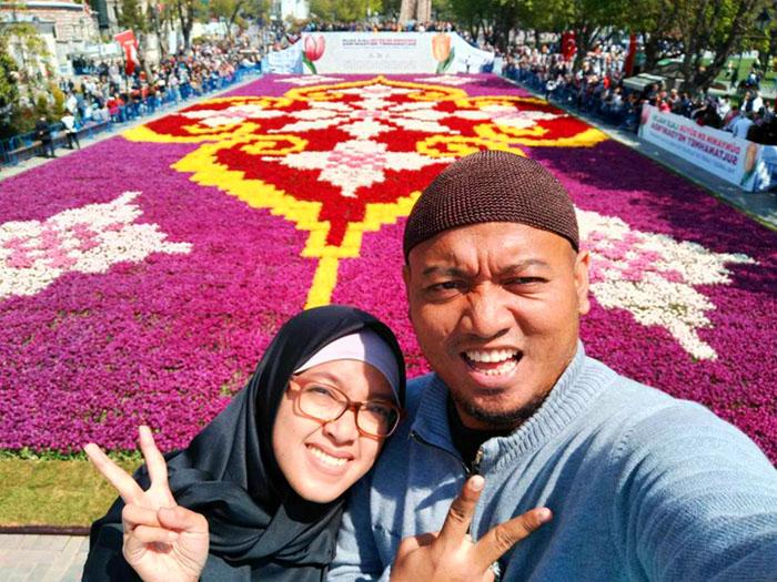 jamaah paket umroh plus turki 2021 festival tulip