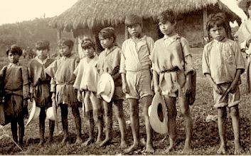 Tzotzil children