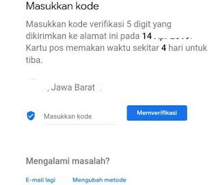 Cara verifikasi akun google bisnis