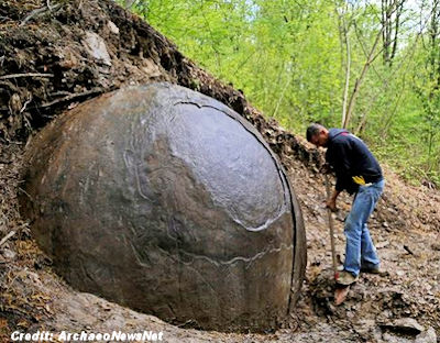 Mysterious Giant Sphere Discovered in Bosnia 4-15-16