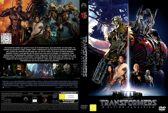 Capa DVD Transformers O Último Cavaleiro [Exclusiva]