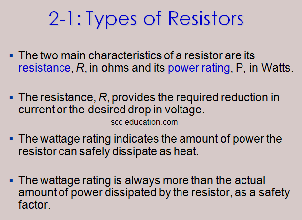 rheostats,variable resistors,Resistors ,colaor coding,power rating,