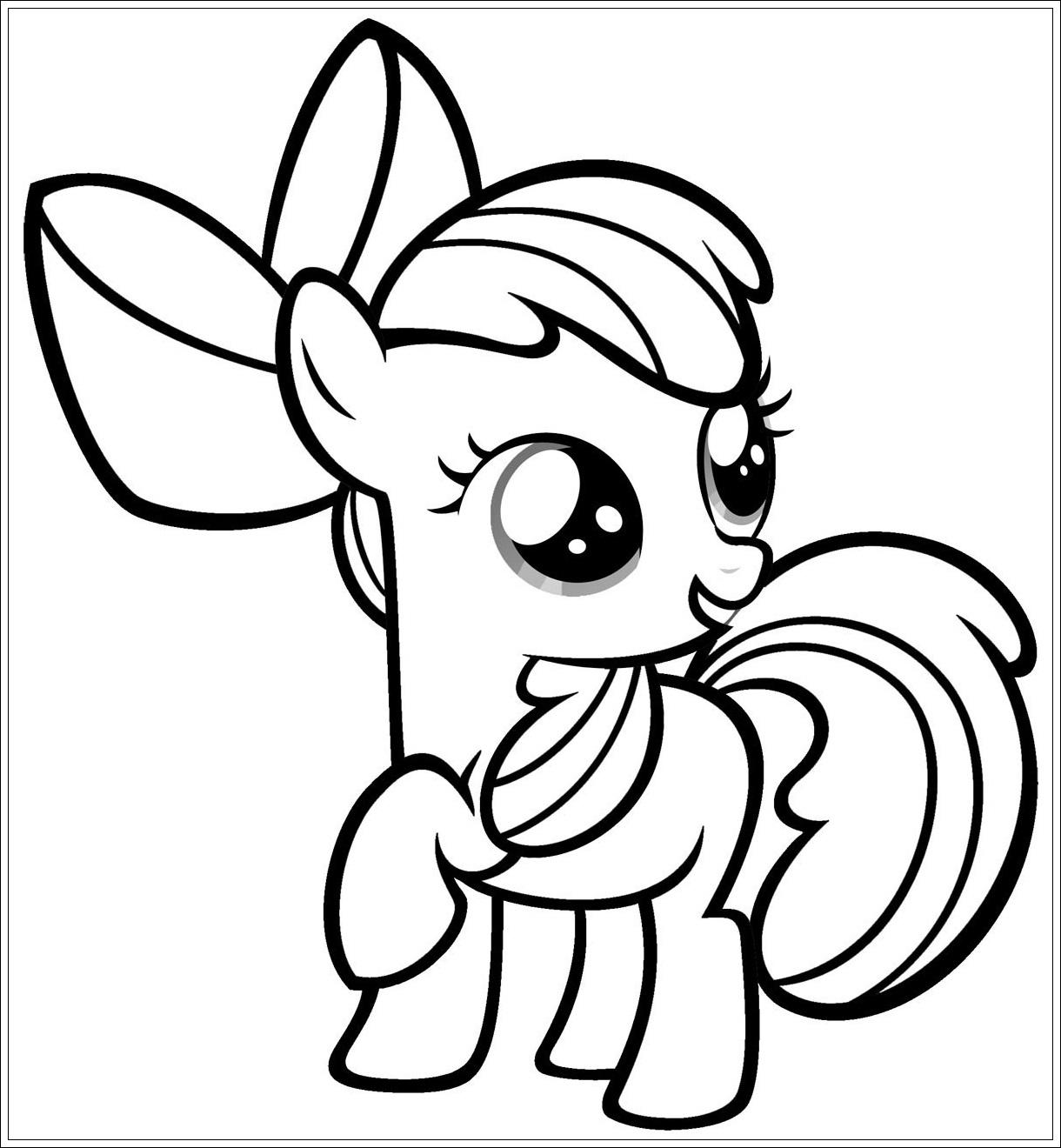 Häufig Ausmalbilder zum Ausdrucken Ausmalbilder My Little Pony zum OI13
