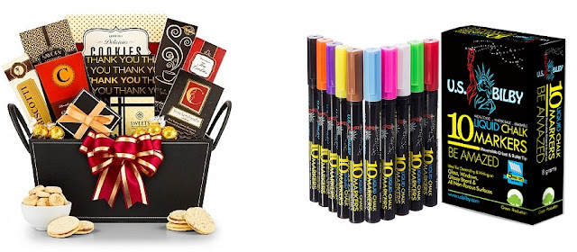 US Only – Chocolate Gift Basket + Chalk Markers Giveaway