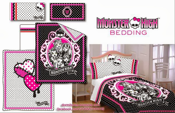 DORMITORIOS MONSTER HIGH BEDROOMS Decoración Monster High