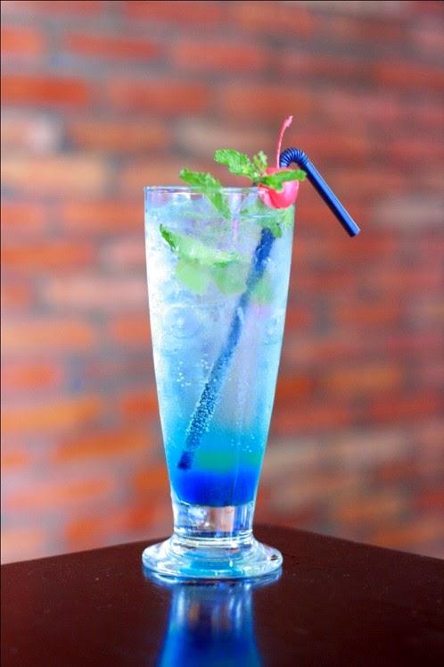Cách làm món Soda Blue sky