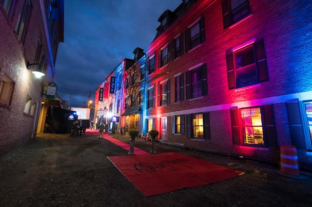 Porthsmouth di sera-Festival del cinema
