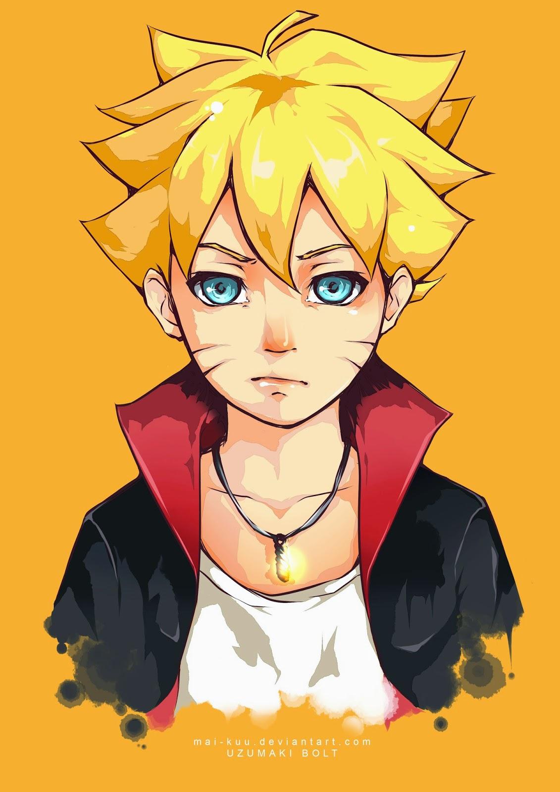 Baruto Uzumaki Anak Dari Naruto Info Gambar