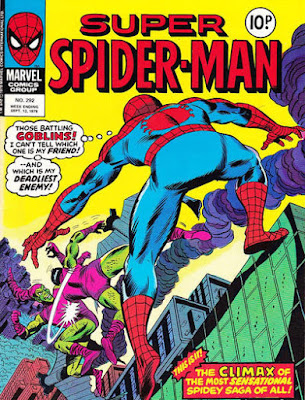 Super Spider-Man #292, the Green Goblin x2