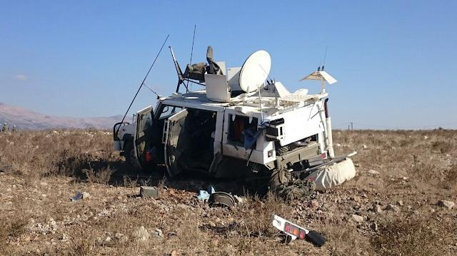 Explota un artefacto explosivo debajo un vehículo 'Lince' español en Líbano
