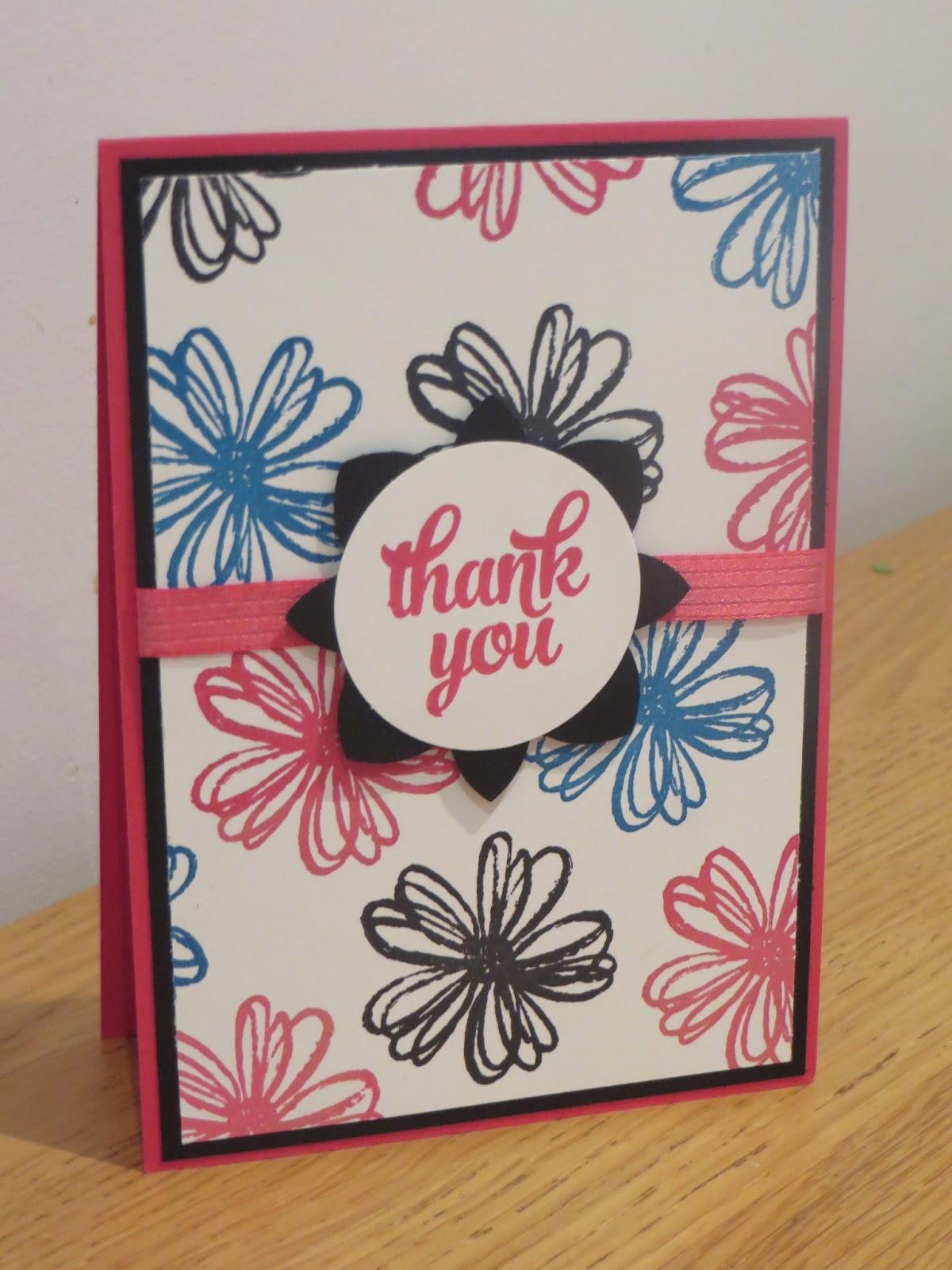 craftycarolinecreates flower shop one sheet wonder card
