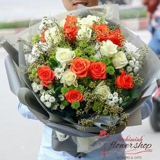 Birthday flower delivered HCMC same day