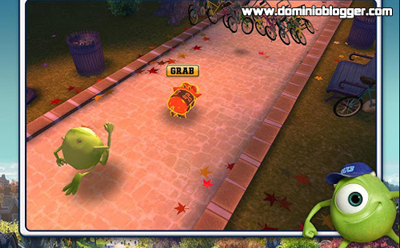 Juega Monster University en tu celular