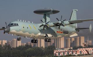 Pesawat AEW KJ-500 Angkatan Udara China