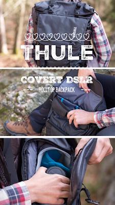 Gear of the Week #GOTW KW 11  Thule Covert DSLR Rolltop Backpack  Fotorucksack  Bietet Platz für die komplette Kameraausrüstung 20