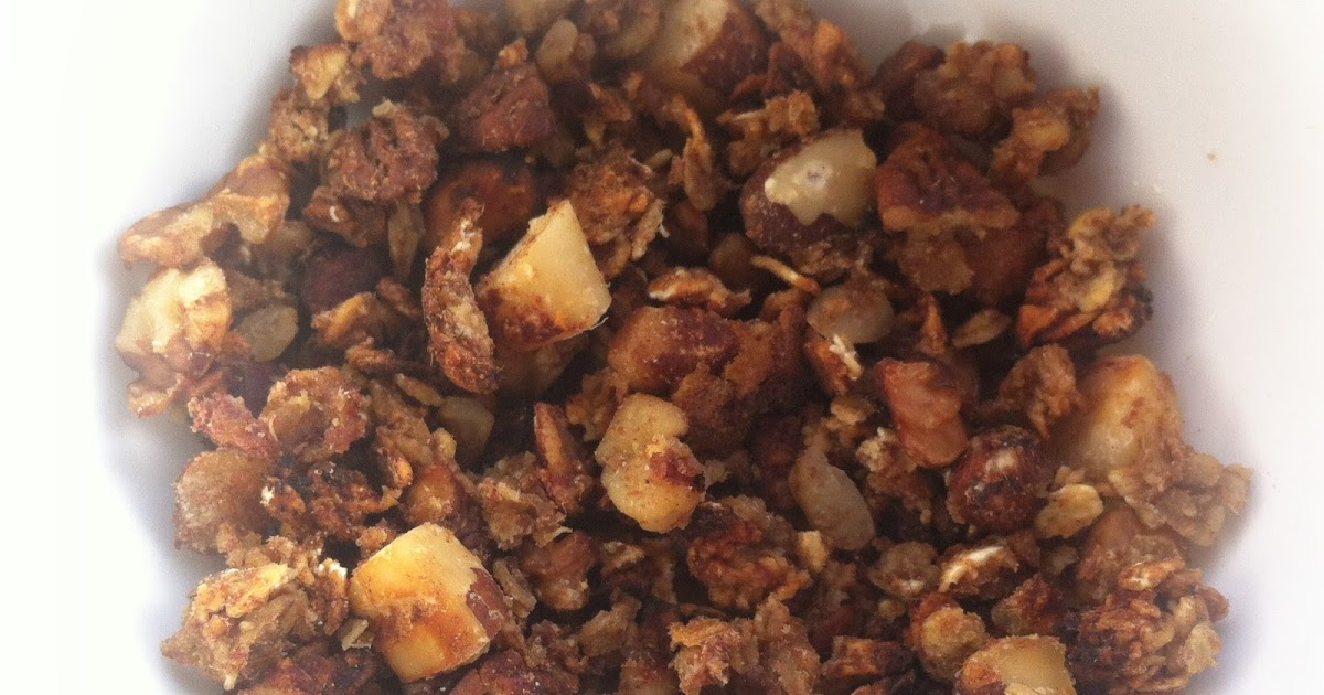 40 Plus and All is Well: Christmas Gingerbread Granola