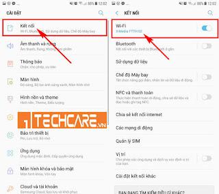 Nguyên do Samsung không bật được wifi