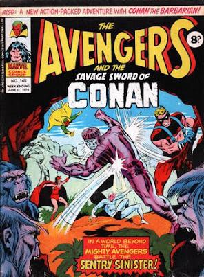 Marvel UK, Avengers #145, The Sentry
