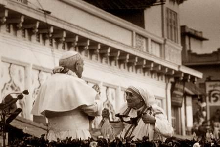 Papa Gjon Pali, Mother Teresa, Madre Teresa, Nënë Tereza