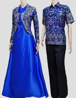Model Baju Batik Kombinasi Bolero muslim