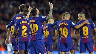 Barcelona announce squad for La Liga match against Eibar