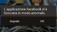 Errore App non risponde, chiusa o bloccata su Android; Soluzioni