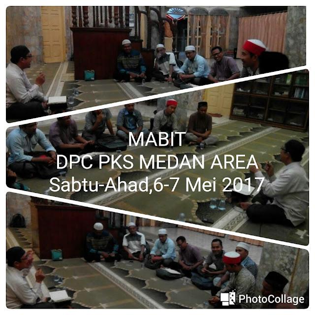 Tingkatkan Keimanan Kadernya, PKS Medan Area Gelar Mabit