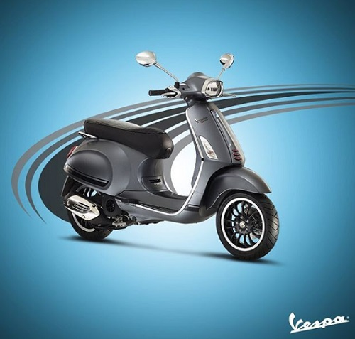 Design review Vespa Sprint baru