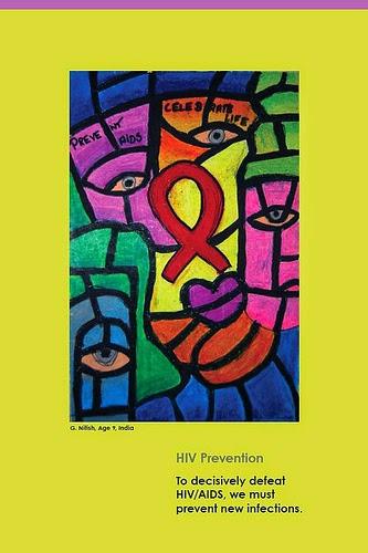 Contoh Poster Hiv Aids Paling Keren Nan Menarik Contoh Soal Dan