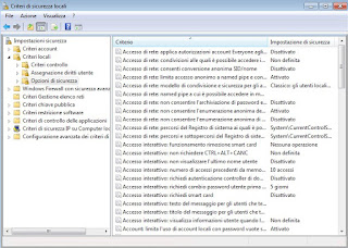 Criteri Windows 7
