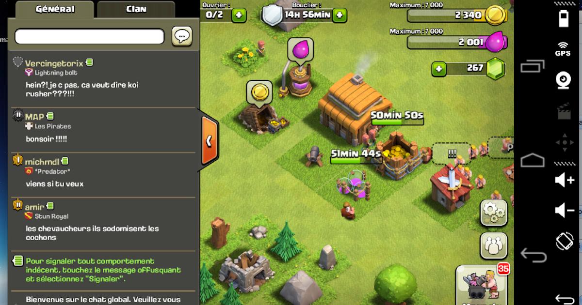 clash of clan sur mac