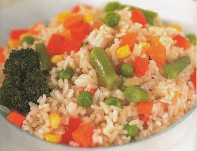 Nasi Goreng Vegetarian Sehat dan Enak