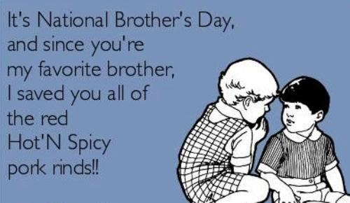 national brothers day quotes funny wishes greetings status