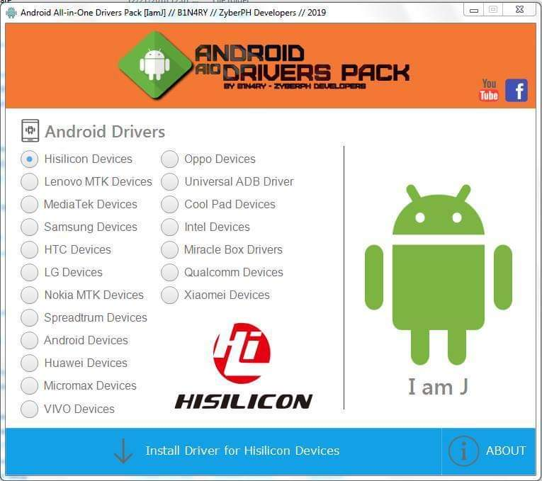 Mobileteam1 Android All In One Drivers Pack 2019 Free