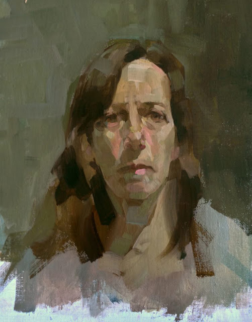 Elaine Despins, Self Portrait, Portraits of Painters