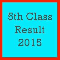 PEC 5th Class Result 2017