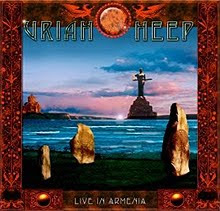 Uriah Heep – Live in Armenia – 2011 CD y DVD