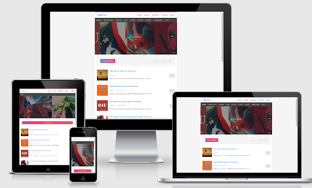 Nextbite Responsive Blogger Template Premium for free