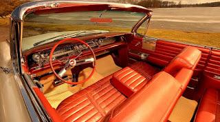 1961 Cadillac DeVille Convertible Interior