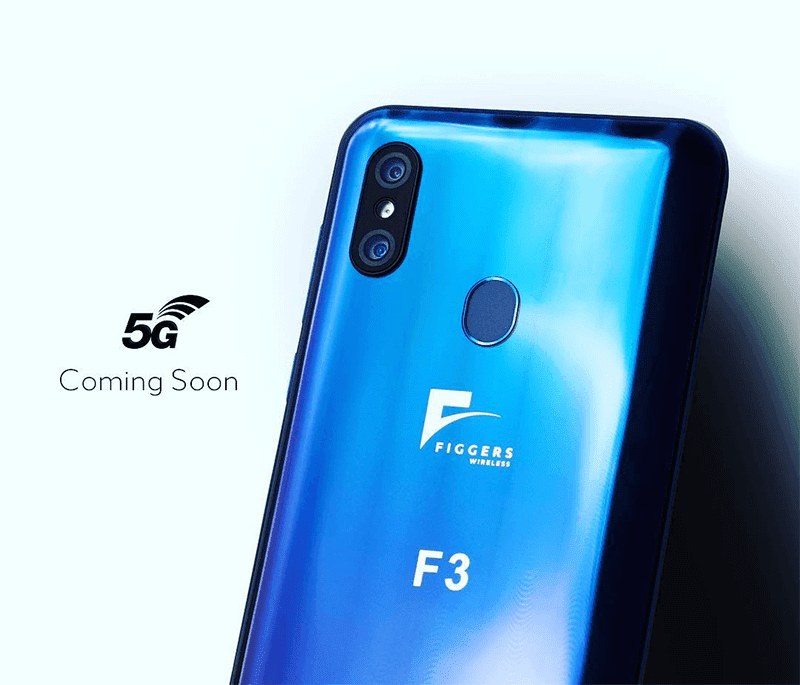 Figgers F3 announced, a US made 5G phone with up to 5 meters wireless charging