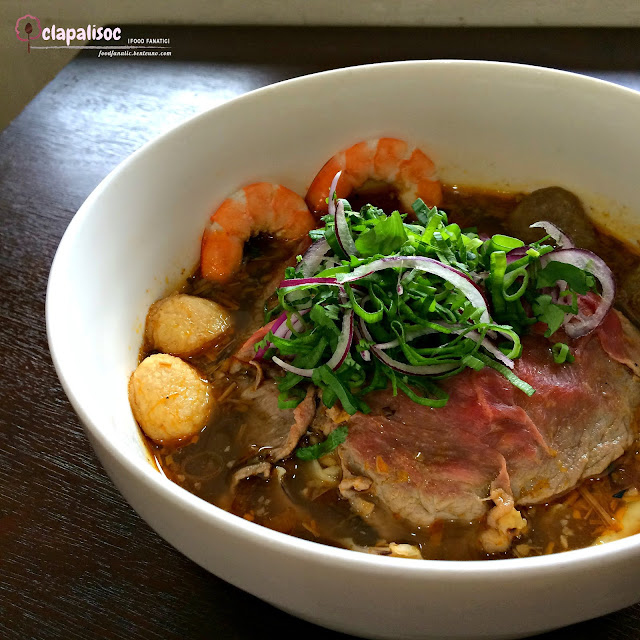 Spicy Combination Beef Noodle Soup