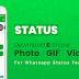 El descargador de estado para Whatsapp le permite descargar imágenes gif y vídeos - descarga gratis